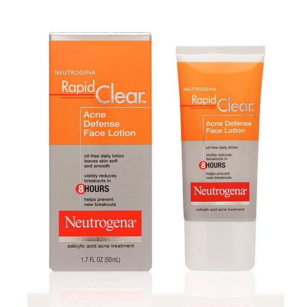 Neutrogena Rapid Clear Acne Defense Face Lotion - Trị mụn hiệu quả
