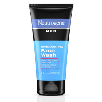 Sữa rữa mặt Neutrogena Men Invigorating Face Wash