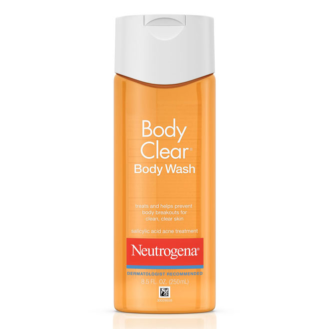 sua tam Neutrogena body clear body wash