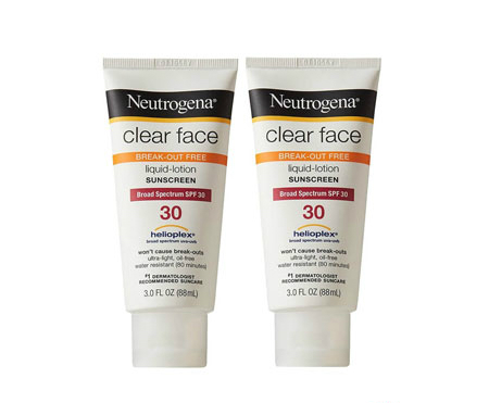 Neutrogena Clear Face SPF 30