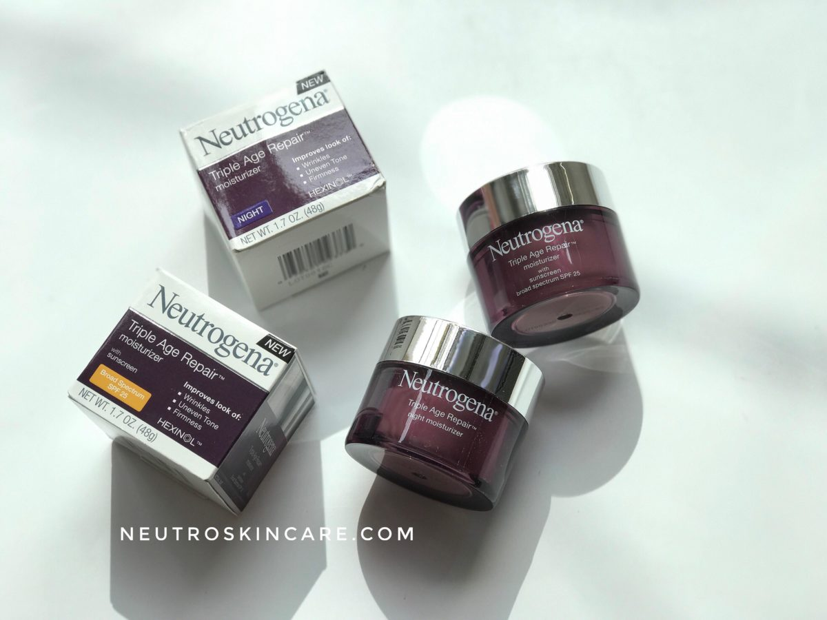 Neutrogena Triple Age Repair SPF 25