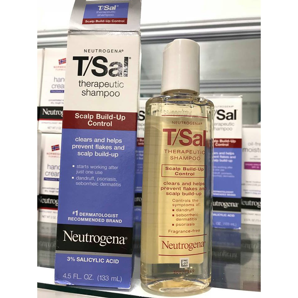 Neutrogena T Sal Scalp Build Up Control