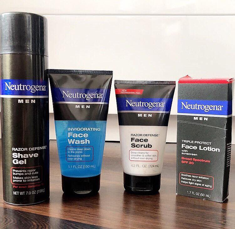 Neutrogena Men Face Scrub
