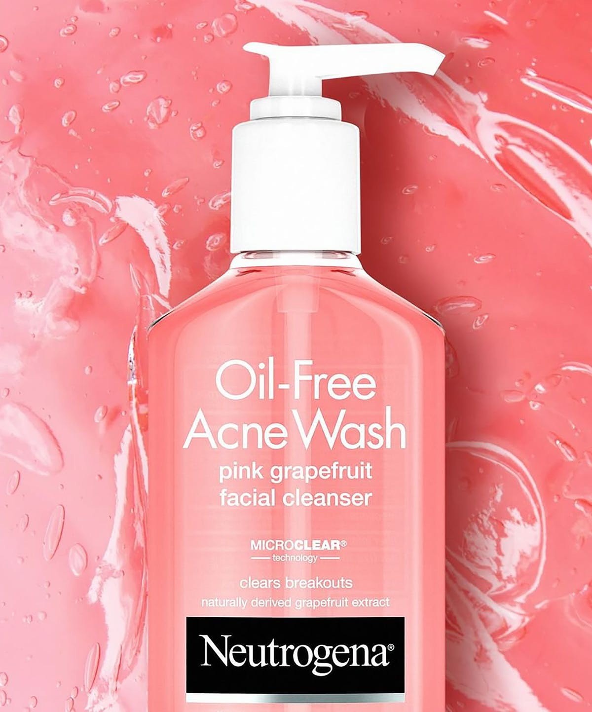 Neutrogena Oil Free Acne Wash Pink Grapefruit 269ml